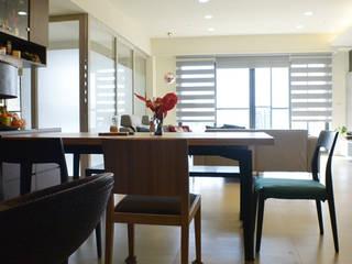 萩野空間設計 Cozinhas minimalistas