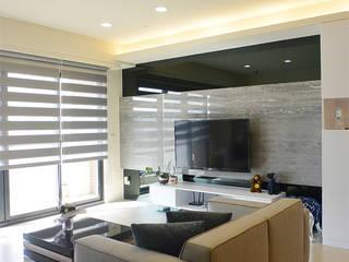 萩野空間設計 Salas de estilo minimalista
