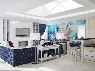 Salon classique par Дизайн-студия Анастасии Нестеровой Classique