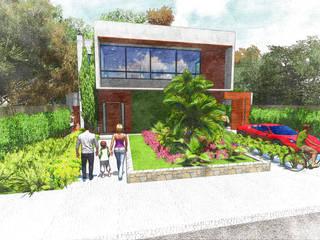 Residencial Rio das Ostras Casas modernas por SDuomo Arquitetura e Design Moderno