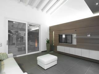 AM SERRAMENTI Fenster & TürFenster Aluminium/Zink Weiß