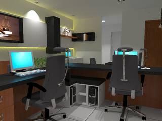 Escritório Advocacia: Edifícios comerciais  por Diego Emmanuel Arquitetura,Moderno
