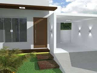 Residência JF: Casas  por Diego Emmanuel Arquitetura,Moderno