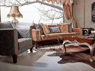Kapars Mobilya & Dekorasyon Phòng khách phong cách kinh điển