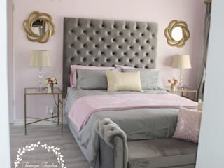 Tamsyn Fowler Interiors BedroomAccessories & decoration Pink