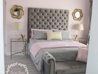 Tamsyn Fowler Interiors DormitoriosAccesorios y decoración Rosa