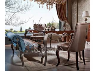 Salas de jantar clássicas por Kapars Mobilya & Dekorasyon Clássico