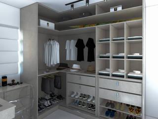 Secato Arquitetura e Interiores Modern Yatak Odası