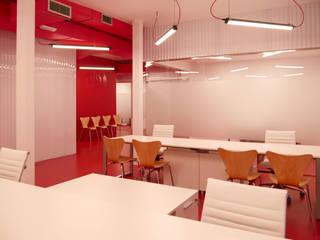 FeSP Oficinas en Cáceres: Estudios y despachos de estilo  de BA estudio