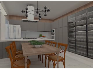 Modern Kitchen by dl8 Arquitetura Modern