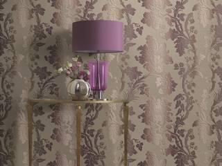 """HannaHome Dekorasyon  – İtalyan """"Etro"""" markasının imzasını taşıyan duvarlar!: asyatik tarz tarz Duvar & Zemin"""