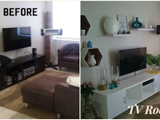 """TV ROOM MAKE OVER: {:asian=>""""asian"""", :classic=>""""classic"""", :colonial=>""""colonial"""", :country=>""""country"""", :eclectic=>""""eclectic"""", :industrial=>""""industrial"""", :mediterranean=>""""mediterranean"""", :minimalist=>""""minimalist"""", :modern=>""""modern"""", :rustic=>""""rustic"""", :scandinavian=>""""scandinavian"""", :tropical=>""""tropical""""}  by BEFORE & AFTER DECOR,"""