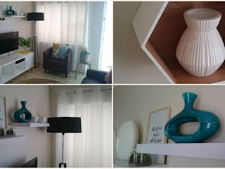 TV ROOM MAKE OVER by BEFORE & AFTER DECOR