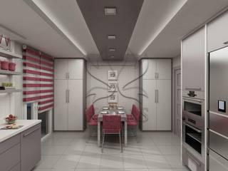 Kapars Mobilya & Dekorasyon Nhà bếp phong cách hiện đại