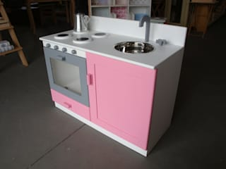 Móvel de cozinha com acabamento:   por Vassourinha Rústica
