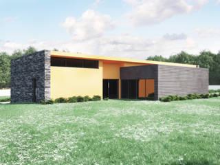 Habitação Unifamiliar: Casas  por Oliveiros Grupo