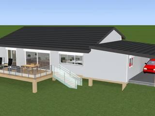 Casas modernas de relion conception Moderno