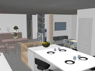 Cocinas de estilo moderno de relion conception Moderno