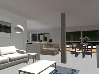 Salas de estilo moderno de relion conception Moderno