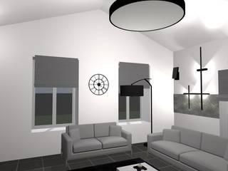 Salas de estilo escandinavo de relion conception Escandinavo