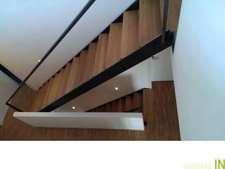 Neubau Wohnhaus:  Flur & Diele von outsideIN | Innen-Architektur