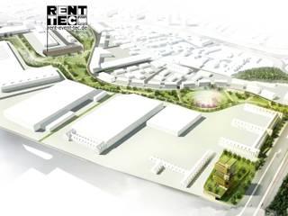 Headquarter RENT EVENT TEC, Taylor Mannheim Industriale Geschäftsräume & Stores von Peter Stasek Architects - Corporate Architecture Industrial