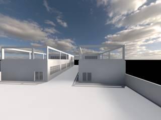 Zwei Werkstätte im Gewerbegebiet Steinweg, Mannheim Industriale Geschäftsräume & Stores von Peter Stasek Architects - Corporate Architecture Industrial