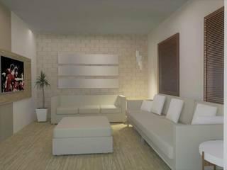 Remodelação Sala de estar: Salas de estar  por Maria Eduarda Reis Interiores,Moderno