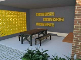 Residência : Terraços  por Maria Eduarda Reis Interiores,Moderno