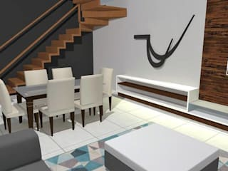 Modern dining room by Maria Eduarda Reis Interiores Modern