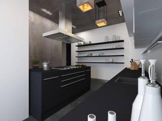 インダストリアルデザインの キッチン の osavchenko インダストリアル