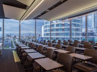 Oficinas de estilo moderno de Work+ Moderno