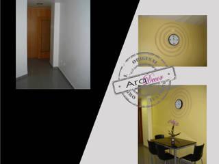 Um projecto à medida... Cozinhas modernas por ArqDecor Moderno