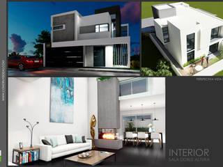 espacios interiores:  de estilo  por Construye Ideas