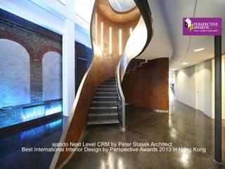 ajando Next Level CRM Moderne Bürogebäude von Peter Stasek Architects - Corporate Architecture Modern