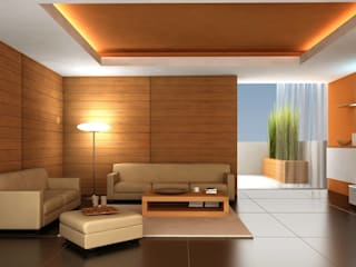 Lamps:  Living room by Craft Looks