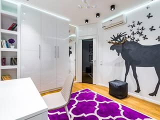 Лось в бабочках: Детские комнаты в . Автор – Школа Ремонта, Модерн