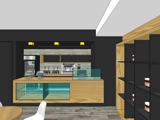 ร้านอาหาร โดย MARATEA Estudio, มินิมัล