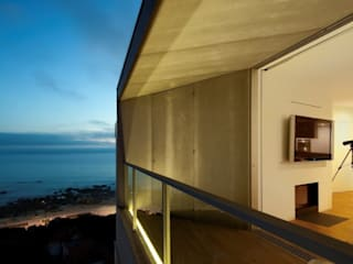VIROC Hoteles de estilo moderno de ESTUDIO 5 DISEÑO Y DECORACIÓN Moderno