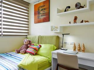 Dormitorios infantiles de estilo rural de 舍子美學設計有限公司 Rural
