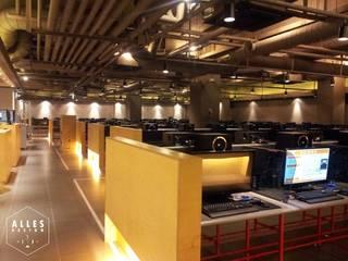 PC 방: 디자인알레스의  상업 공간