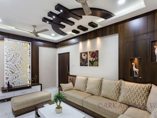 ARK Architects & Interior Designers Modern living room