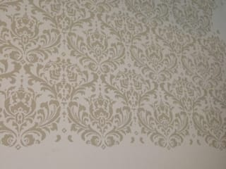 Damask Stencil in Beige (Venus) :   by Beautiful Changes
