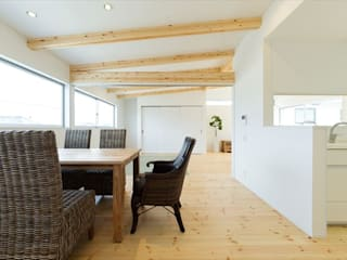 Modern Dining Room by フォーレストデザイン一級建築士事務所 Modern