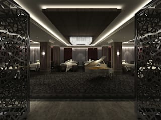 South Tower Hotel Key Invest Interior Designer Istanbul Modern walls & floors