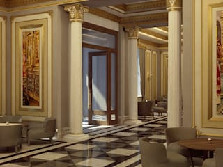 Astrakhanski Hotel Classic hotels by Key Invest Interior Designer Istanbul Classic