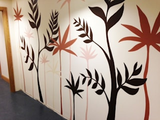 Contemporary Murals: modern  by Joanna Perry Murals, Modern