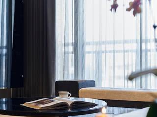 Livings de estilo moderno de 舍子美學設計有限公司 Moderno