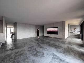 Salas / recibidores de estilo  por 本晴設計, Minimalista