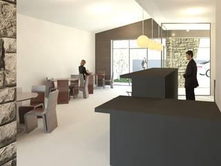 Estabelecimento de bebidas Espaços de restauração minimalistas por Sara Silva - arquitecta Minimalista